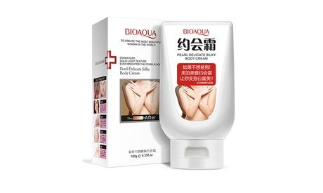 BIOAQUA Pearl Delicate Silky Body Cream Sexy Women Skin Care Natual