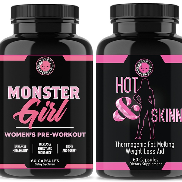 Up To 60 Off On Monster Girl Pre Workout Hot Groupon Goods