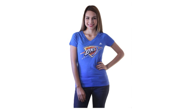 OKC Thunders NBA Shirt For Her Sizes S to L