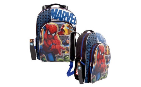 "Marvel Avengers Age of Ultron Backpack 16"" Full-Size e3c8785e-1ed3-4b8a-87dd-5c30c68bf56a"