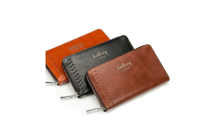 Baellerry Business Style Leather Wallet For Men - Bifold Wallets