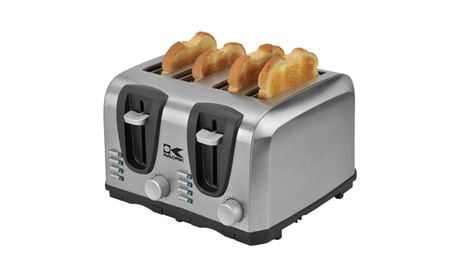 Kalorik TO-37896-SS 4-Slice Stainless Steel Toaster 49092a5c-9993-4c77-9554-3354976627b0