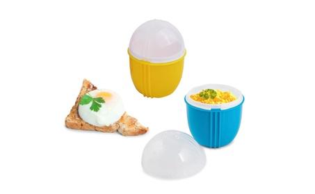 Microwave Egg Cooker Cool Touch Scrambled Eggs 1 Minute Egg Poacher 2f4e9ade-503b-4368-9f36-b51ed9221529