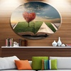 Amazing Heart Tree and Book' Large Abstract Metal Artwork