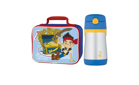 Thermos Soft Lunch Kit w/ 10oz Straw Bottle (Jake and the Pirates) 0f8e1dca-c8d9-4247-8d87-f6138bdfb618