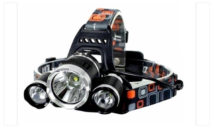 Headlamp Headlight 5000 LM with 3*Cree XML T6 LED