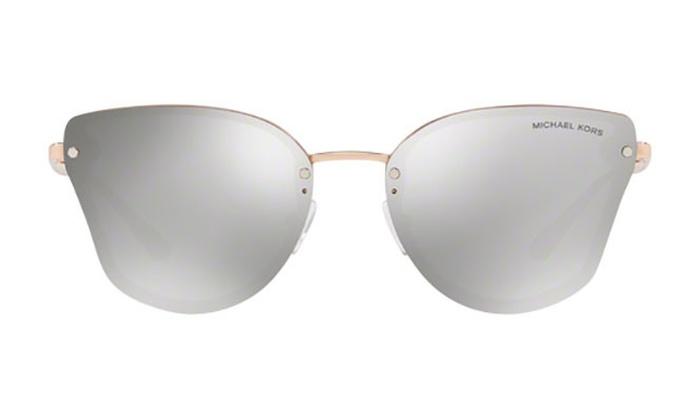 7f3ddbe568 Michael Kors SANIBEL MK2068 32466G 58 Milky Pink Frame   Silver Mirror  Lenses