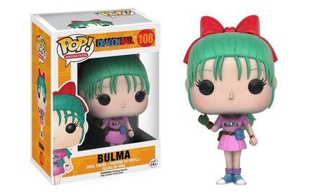 Funko Pop Animation Dragon Ball Z Bulma Vinyl Figure Collectible Toy #108 cf0e5338-9cf2-461f-8ec5-4683eb0a8cb0