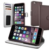 Insten Brown Wallet Leather Stand Case Card Slot iPhone 6 Plus