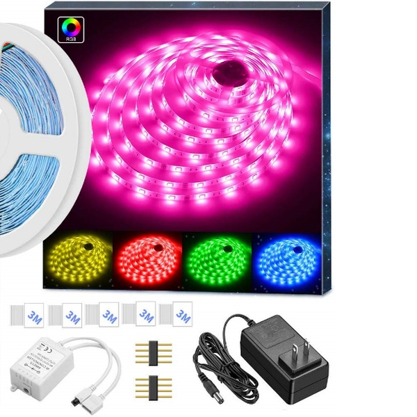 Up To 46 Off On Minger Led Strip Lights 16 4 Groupon Goods A wide variety of rohs led strip light options are available to you, such as lighting solutions service, warranty(year), and lifespan (hours). minger led strip lights 16 4ft rgb led light strip 5050 led tape lights