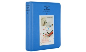 Fujifilm Instax Mini Photo Album. Polaroid Pocketsize Album 64 Pockets