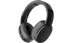 Skullcandy Crusher Wireless Noise Isolating On-Ear Headphones in Black