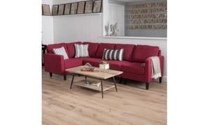 Cantara Five-Piece Fabric Sectional Sofa