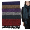 (6-Pack) Women's Pashmina Extra Wide Paisley Scarves - TBIS