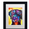 Dean Russo 'Dobie' Matted Black Framed Art
