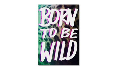 Leah Flores 'Born To Be Wild 2' Canvas Art 8036b742-a5bd-4f70-9f2f-0b4c7a9b44ee