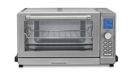 Cuisinart TOB-135NFR Refurbished Deluxe Convection Toaster Oven Broiler photo