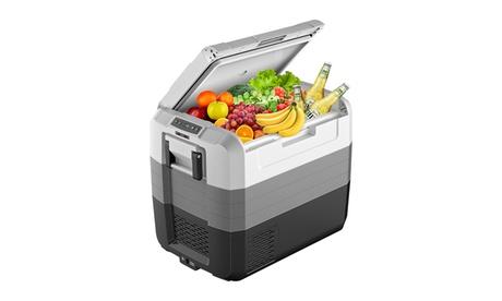 Costway 70 Quart Portable Electric Car Cooler Refrigerator Compressor Freezer