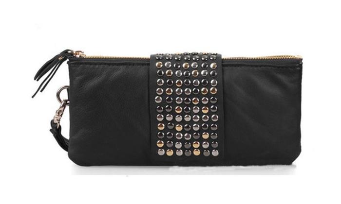 Women's New Fashion Evening Bag Rrivets Holding – KMWW1005-KMWW1006