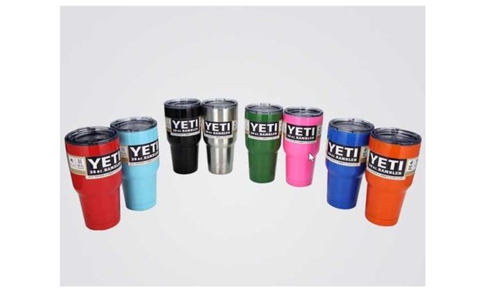 2276b500494 yeti 30 oz rambler tumbler mug cup | Groupon