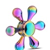 Fidget Hand Spinner Rainbow Colorful Bright Plating Water Droplets