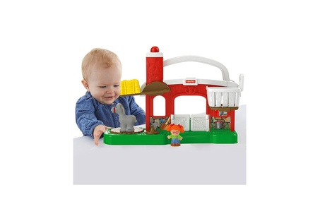 Fisher Price Little People® Hay Stackin' Stable DFT30 6a882997-bcfa-4a31-aa3e-d9d911ba7e11