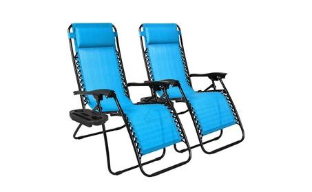 Zero Gravity Chairs Set of 2 - Light Blue 38246ee0-afae-4f23-8b3c-5f7c744c403d