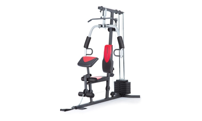 Weider 2980 Home Gym With 214 Lbs Of Resistance Groupon