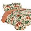 Florance - 3 Piece Reversible Quilt Set