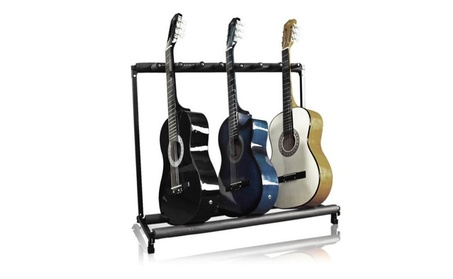 7 Holder Guitar Folding Stand a8bed82b-02c7-4b7a-9204-0a5e49ade649