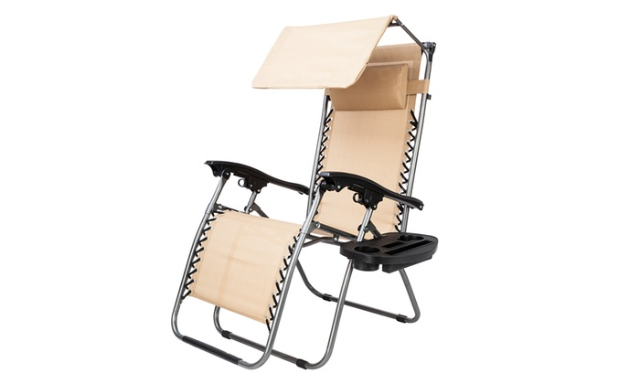 Outstanding Up To 72 Off On Zero Gravity Lounge Chair Wit Groupon Frankydiablos Diy Chair Ideas Frankydiabloscom