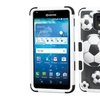 For Kyocera Hydro Reach View Designed Hard Hybrid Rubber Case