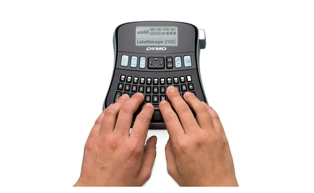 dymo LabelManager 210D All Purpose Label Maker with Large Display 620c6894-de4f-4fd5-af1f-3df4085f8e6a