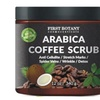 Briefly 100% Natural Arabica Coffee Scrub 12 oz. with Organic Coffee