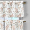 Rivietta Faux Linen Kitchen Curtain