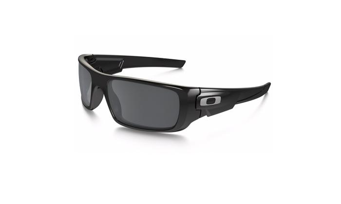 e1566d195bfc Oakley Crankshaft Sunglasses (Polished Black) | Groupon