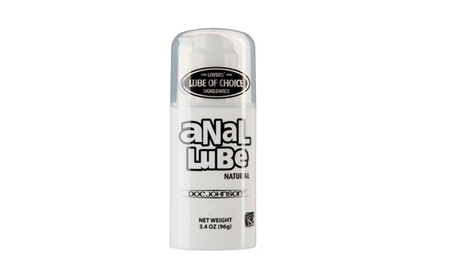 Anal Lube Natural - 3.4 Oz. Airless Pump - Bulk 29227557-7306-4db4-99ca-89bf1d686c03