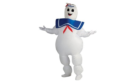Ghostbusters - Inflatable Stay Puft Marshmallow Man Adult Costume 97a32c23-0da5-4cc3-92cb-c55b61aca715