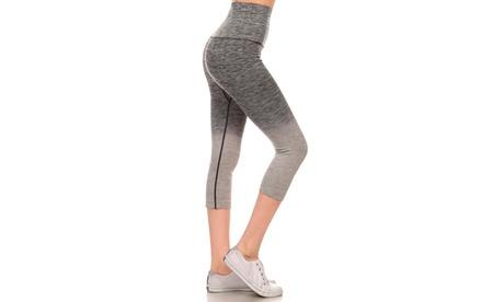 Activewear Ombre Capri Leggings c7c33199-2244-48d1-b834-101eda99ab15