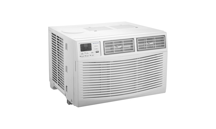 Cool living 12 000 btu window air conditioner with digital for 120 volt window air conditioner