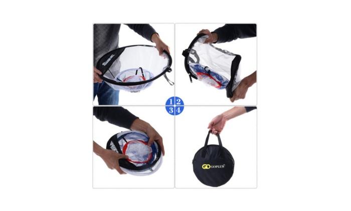 Portable 20'' Golf Training Net Hitting Aid Practice Bag