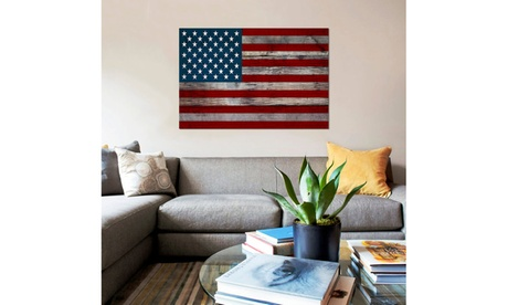 US Constitution - American Flag, Wood Boards by iCanvas 74a85d02-85f4-475c-9fb2-a60b70bf21c0