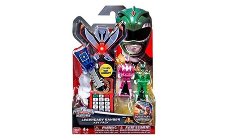 Mighty Morphin Power Rangers Super Megaforce Legendary Ranger Key Pack cb48541a-2533-4276-9600-d99e291b8b76