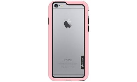 AMZER Border Bumper Hybrid Case for iPhone 6 Plus 6s Plus