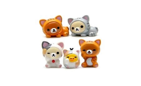 Bear Cat Pig Action Figure Toy Kit Kids Collection Toy Children Gifts e8740341-23ea-46f3-a2c4-417d9b172da9