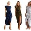 Miranda Side Slit Knit Dress