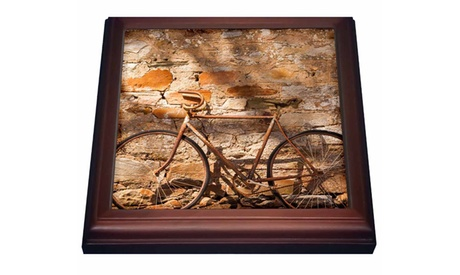 Trivet with TileAustralia old bicycle photo