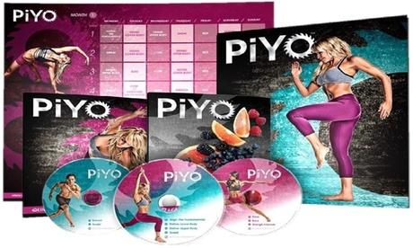 Piyo Fitness Dvd Workout Complete Base Kit