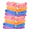 4-Pack Super Absorbent Microfiber Hair Drying Turbans