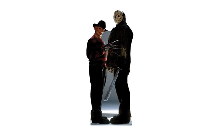 Advanced Graphics 474 Freddy VS Jason Life-Size Cardboard Stand-Up 59e54ad2-2055-44f9-8f7b-5fcd7ab0eefc